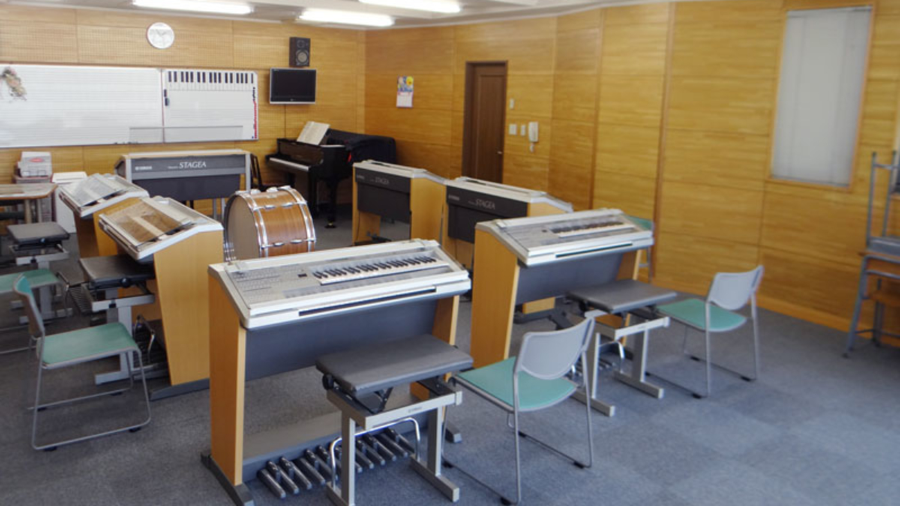 ピアノ 教室 山田音楽教室 久留米 駐車場 風景 レッスン